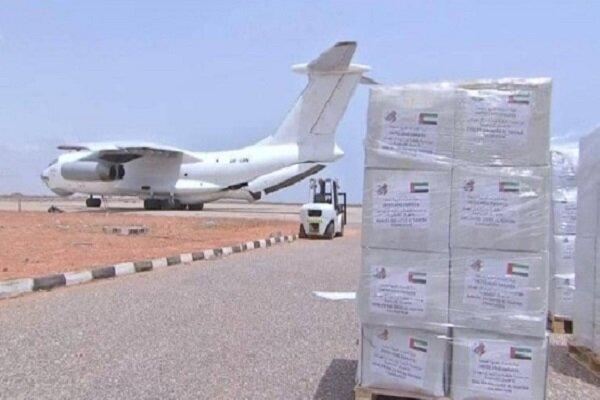 امارات 2 هواپیمای حامل 32 تُن کمک به ایران ارسال کرد