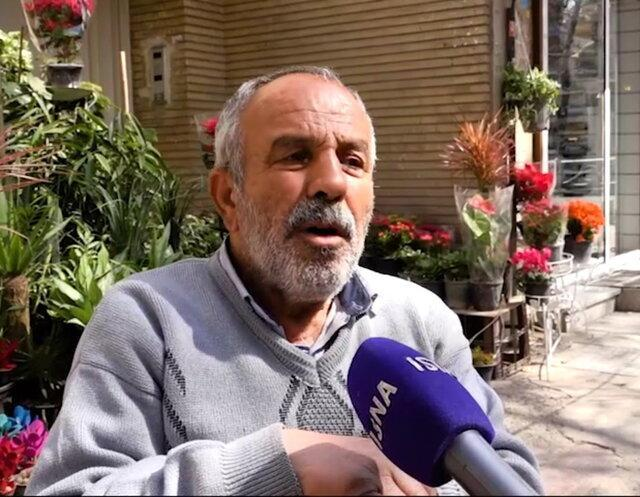 تاریخی که این مرد 69 ساله از خیابان ولیعصر زنده کرد