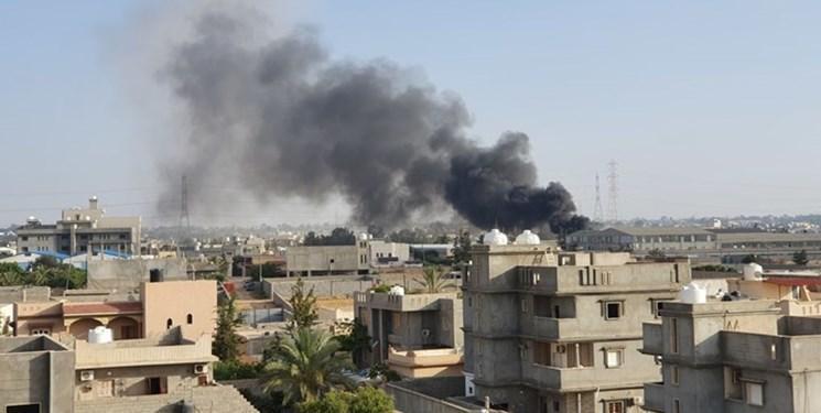 دولت وفاق ملی لیبی، هواپیمای حامل تسلیحات به حفتر را هدف قرار داد