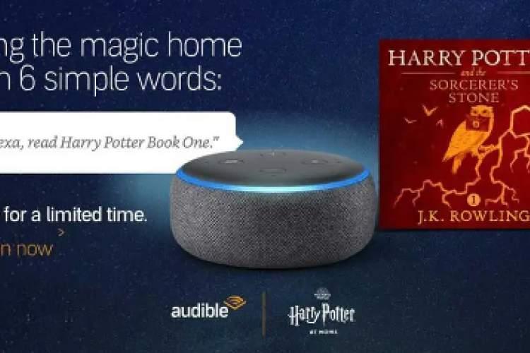 اولین کتاب صوتی داستان های هری پاتر رایگان عرضه شد