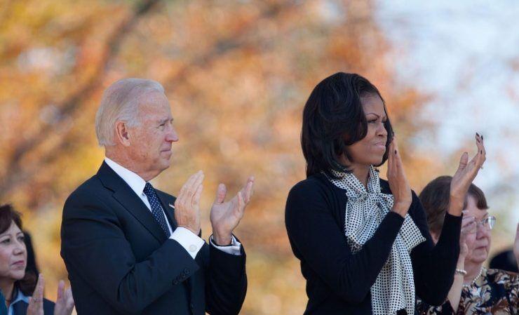 خبرنگاران بایدن: مایلم میشل اوباما معاونم باشد