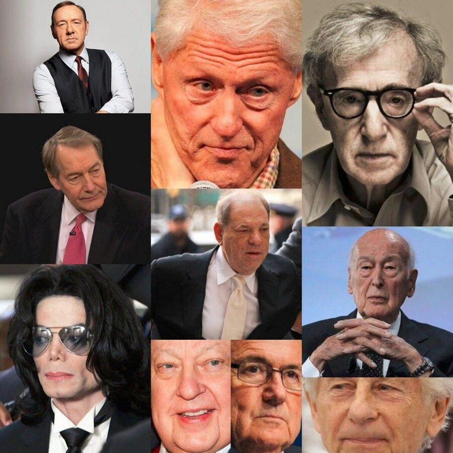 10 نفر از مشهورترین چهره هایی که متهم به تجاوز شده اند