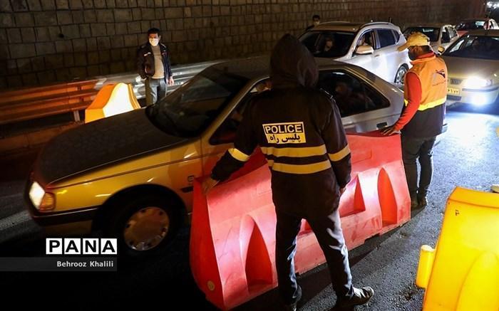 عودت بیش از 70 هزار خودرو به مبدا با اجرای محدودیت تردد در 25 استان