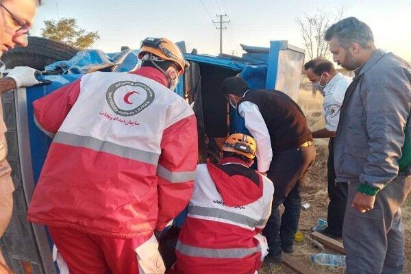 7 کشته در تصادف خونین محور زرآباد-جاسک