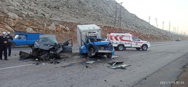 خبرنگاران 75 نفر در سوانح رانندگی درون شهری کرمانشاه جان باختند