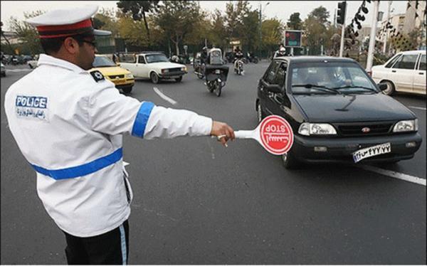 ارسال بیش از 25 هزار پیامک ناجا به رانندگان خاطی طرح کرونا