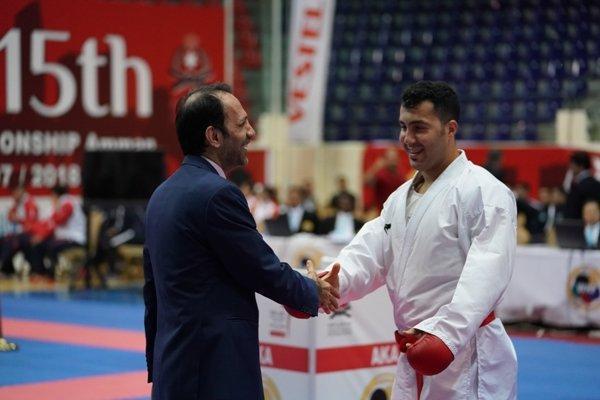 گنج زاده طلای دوم راکسب کرد، انتها کار ایران با 5 مدال رنگارنگ