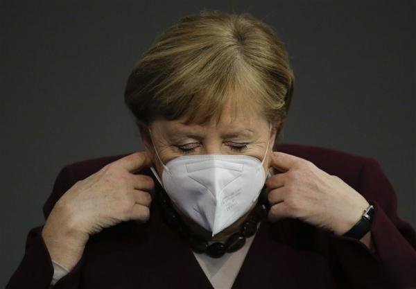 مرکل محدودیت های کرونایی آلمان را تمدید می نماید