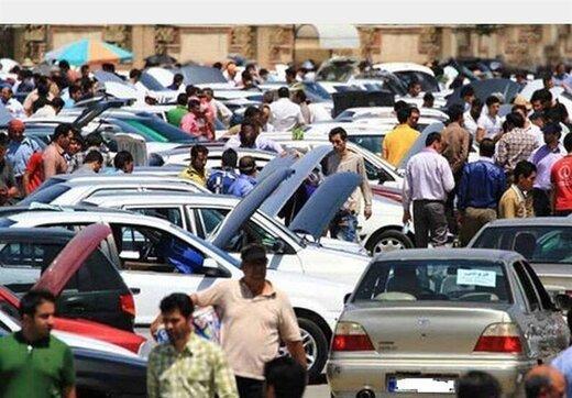 رونق خرید و فروش خودرو در بازارهای غیررسمی