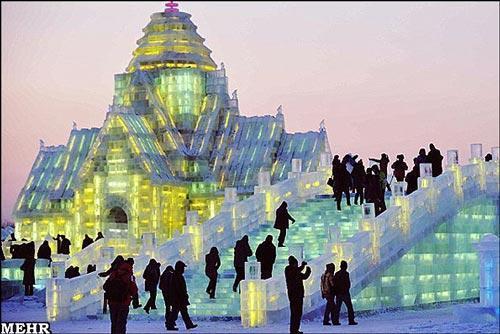 شهر یخی چین را از دست ندهید!