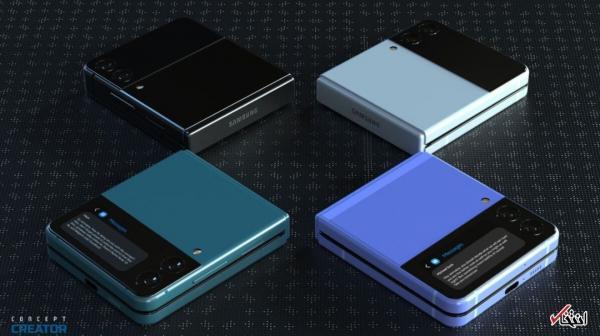 گزینه های رنگی گلکسی Z Flip3 معین شد