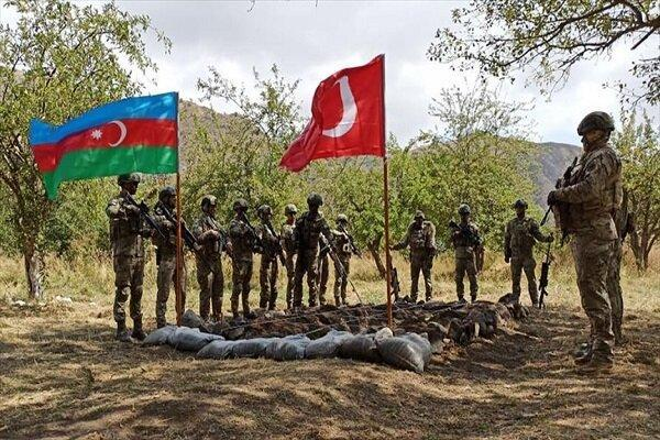 رزمایش نظامی ترکیه و جمهوری آذربایجان شروع شد